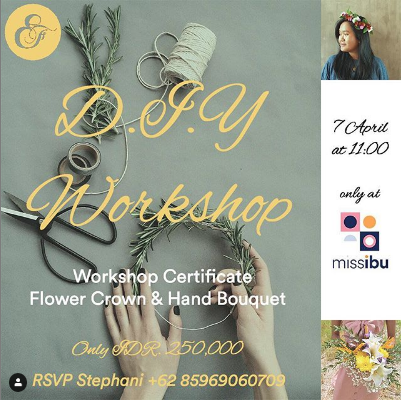 Flower Crown & Hand Bouquet Workshop